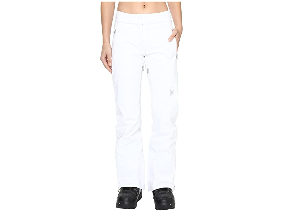 Spyder The Traveler Tailored Fit Pant (White 1) Women