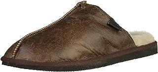 Shepherd of Sweden - Pantoufles peau de mouton Hugo - Homme - Peau de mouton 100% naturelle - À enfiler - Confort - Douce...