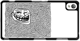 Meme Troll Face Labyrinth Emoticon Emoji case for Sony Xperia Z3