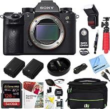 Sony Alpha a9 Mirrorless Interchangeable Lens Digital Camera Body Bundle with 128GB Memory Card, Flash, Paintshop Pro 2018...