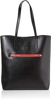 HUGO Isabel Tote, Shopper para Mujer, Black2, Einheitsgröße