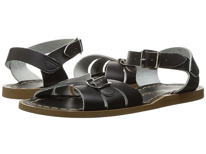 Salt Water Sandal by Hoy Shoes  Classic (Little Kid) (Black) Girls Shoes