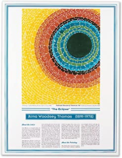 Knowledge Unlimited Inc. African American Artists Poster - Alma Woodsey Thomas - The Eclipse