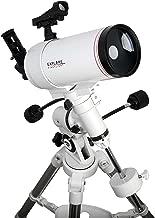 Explore Scientific FL-MC1001400EQ3 First Light Tube sutov-Cassegrain Telescope with Exos Nano, 100mm, White