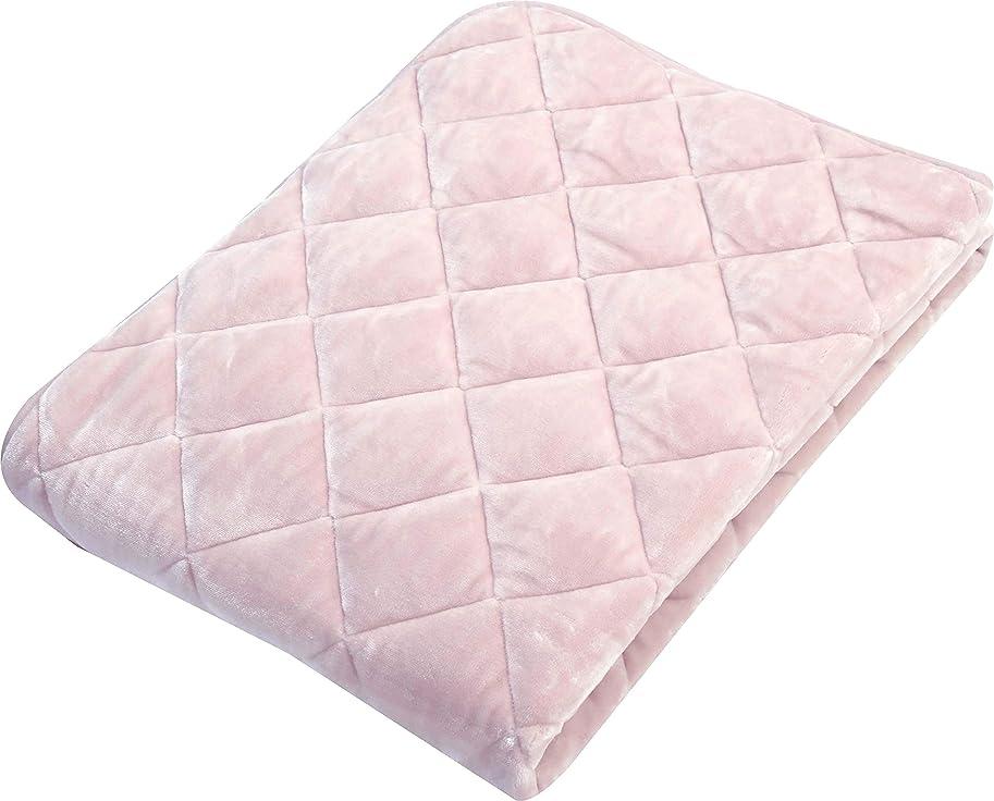 高齢者フォーム耐える京都西川 敷きパッド ピンク シングル プレミアムソフト 洗える あったか ふわふわ やわらか 無地 2EPK6702 S