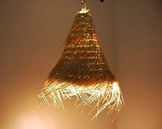 Amazon.es: lampara mimbre
