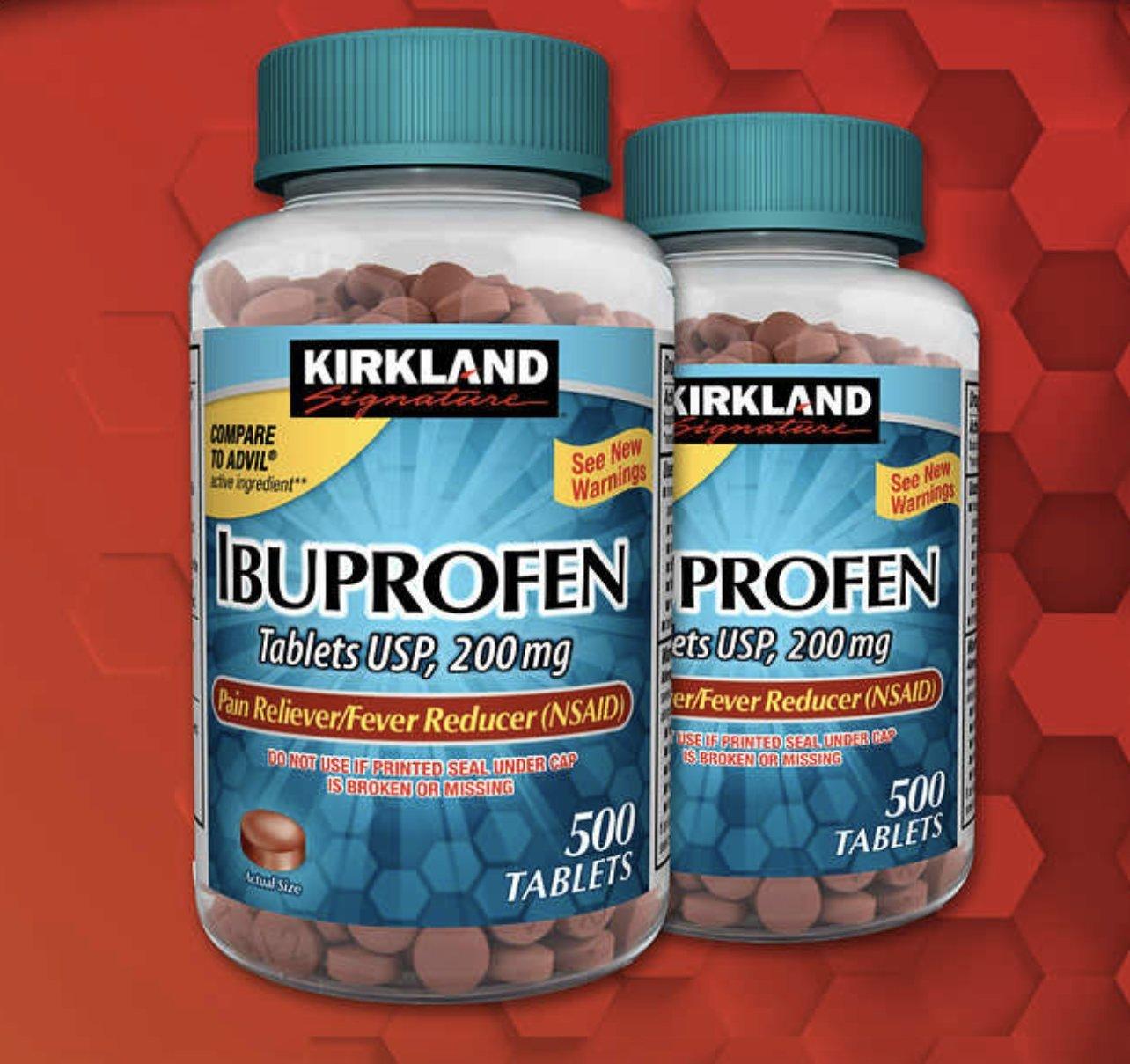 Kirkland Signature Ibuprofen, 200 mg (1000 Count)