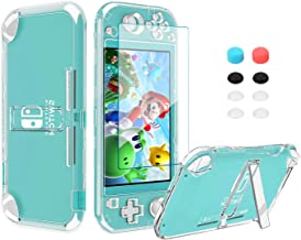 Switch Accessories Kit 13in 1 for Nintendo Switch Lite with Hard Cover Case, Screen Protector Tempered Glass, Switch Joyst...