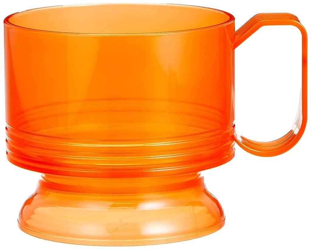 抜粋便益失望させる日本デキシー カップホルダー インサートカップホルダー スケルトンオレンジ 5個