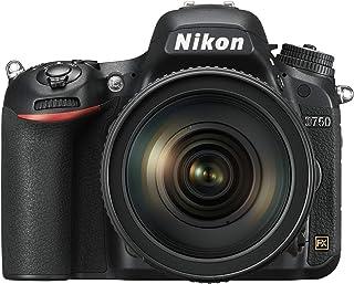 نيكون FX-format D750 - 24.3 ميجابيكسيل,كاميرا اس ال ار , عدسه 24-120 ملم, اسود