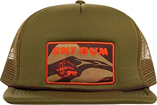 Ski Bum Trucker Hat - Men's Seaweed, One Size