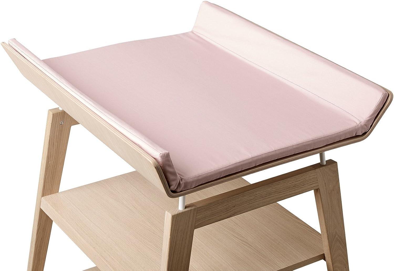 Housse mat. à langer Linea, pink pale