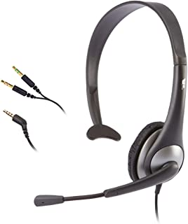 Cyber On Ear Stereo Headset, Black, AC-104