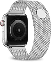 jwacct Compatible for Apple Watch Band 38mm 40mm 42mm 44mm, Adjustable Stainless Steel..