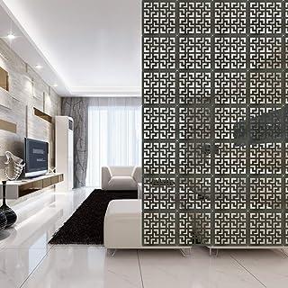 Y-Step - Biombo de madera colgante con 9paneles, divisores para habitaciones, camas, comedores, estudios, hoteles, oficinas o bares