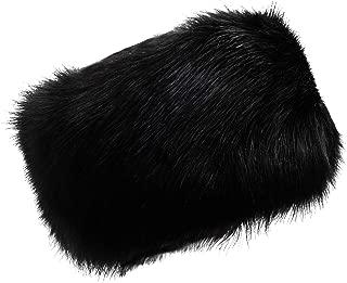 Womens Faux Fur Headband Stretch Winter Earwarmer Earmuff