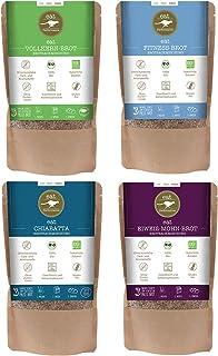 eat Performance Brotbackmischung Box 4 Sorten - Bio, Paleo, Glutenfreies Brot Aus 100% Natürliche Zutaten