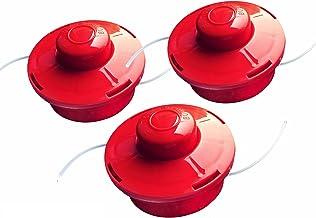 Nemaxx draadspoel met automatisch indrukken dubbele draadkop draadkop maaikop nylon snoerrol grasmaaier toebehoren reserve...