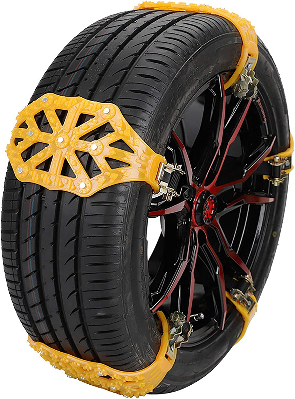 Gwewei4df Snow Chains Max 60% OFF Car Anti Tire Weekly update C Slip Passenger