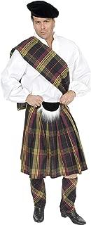 Charades Men's Scottish Kilt