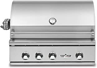 Delta Heat Built-in Grill with Infrared Rotisserie and Sear Zone (DHBQ32RS-C-N), 32-Inch, Natural Gas