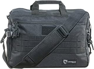 Drago Gear Side Pack Tactical Laptop Briefcase Black BLACK OPS, DRAGOGEAR Side Pack Tactical Laptop Briefcase Black One Size