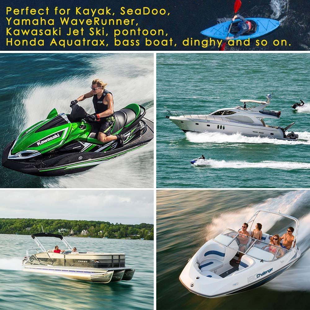 Yamaha WaveRunner Acelane 2pcs Bungee Dock Lines Boat Dock Rope ...