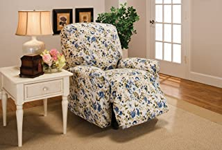 Madison Jersey Large Recliner Slipcover, Blue