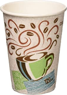 Dixie Perfectouch Disposable Hot Cups, 12 OZ Cups / 50 Count