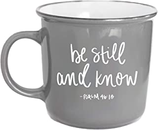 Be Still And Know That I Am God | Psalm 46:10 Christian Mugs Religious Mugs For Women Coffee Cup Bible Verse Scripture Inspirational Coffee Mugs For Women Christian Mug Religious
