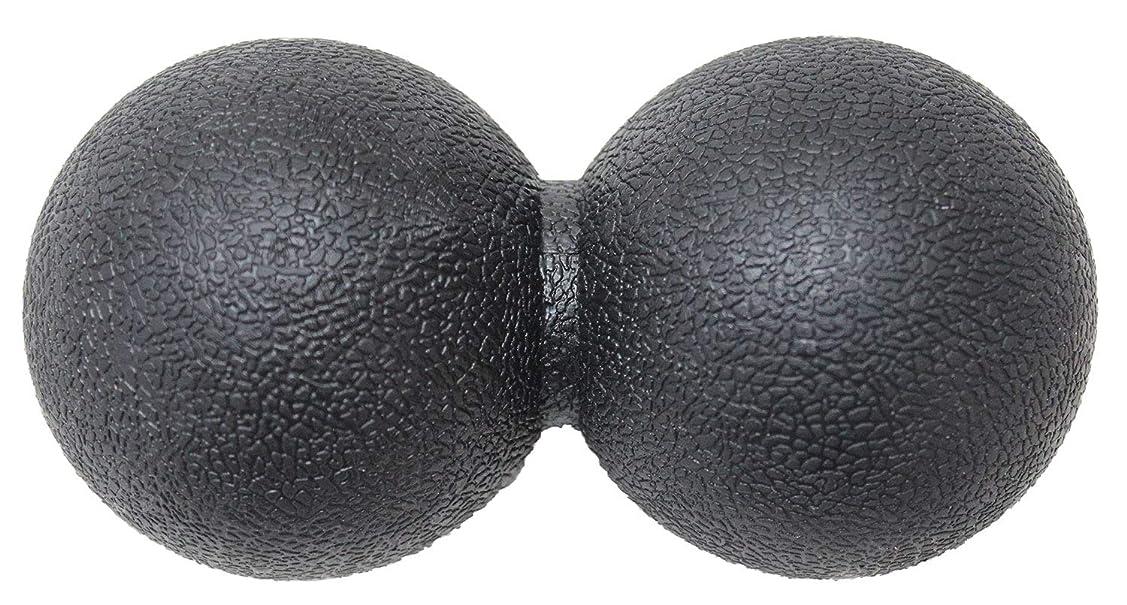 進化オールレコーダーKaRaDaStyle マッサージボール ストレッチボール リセットボール トリガーポイント ピーナッツ型 (ブラック)