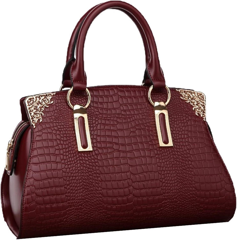 ADEMI Neue Mode Handtaschen Dreidimensionale Krokodil Handtasche MultiFarbe B07B9ZJL9T  Für Ihre Wahl