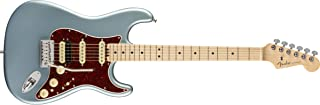 Fender エレキギター American Elite Stratocaster® HSS, Maple Fingerboard, Satin Ice Blue Metallic