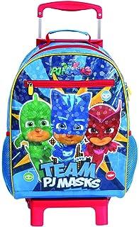 Mala Escolar G com Rodinhas PJ Masks, 11554, DMW Bags