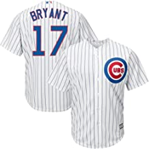Outerstuff Kris Bryant Chicago Cubs MLB Majestic Youth 8-20 White Home Cool Base Replica Jersey (Youth Small 8)