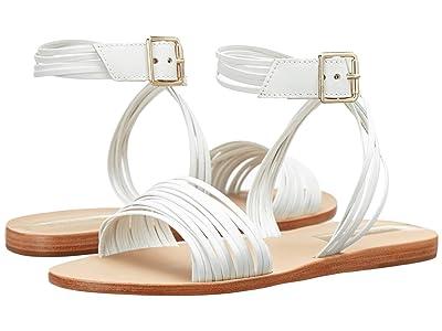 KAANAS Copacabana Strappy Ankle-Wrap (White) Women