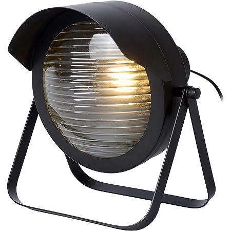 Lucide 05523/01/30 Lampe de Table, Acier, 40 W, Black