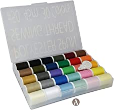 LEONIS 30 Color Handy Polyester Sewing Threads 50 Yards/45 m Each[ 93011 ]