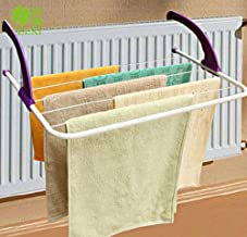 Purple : Folding Balcony Clothes Dryer Indoor / Double Radiator Airer (Purple)