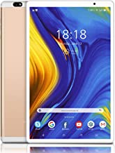 Tablet, Android 10.0 Quad Core Tablets, 10 inch IPS Full HD Display GMS Certified, with 4GB RAM 64GB ROM, 4G-LTE Phone Tab...