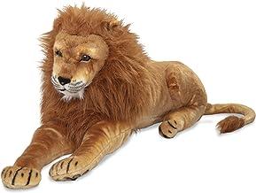Melissa & Doug Giant Lion - Lifelike Stuffed Animal (over 6 feet long)
