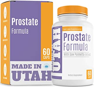 Natural Prostate Formula - All Natural Blend of Vitamins, Minerals and Herbs with Saw Palmetto, Green Tea, and Nettle - Su...