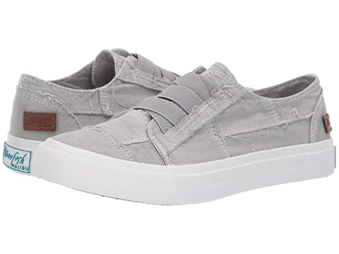 Blowfish  Marley (Sweet Gray Color Washed Canvas) Womens Flat Shoes