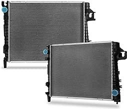 CU2479 Complete Radiator Replacement for Dodge Ram 1500/2500/ 3500 2003 2004 3.7 V6 4.7 5.7 V8