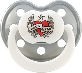 ROCK STAR BABY おしゃぶり ハート&ウィング [Baby Product]