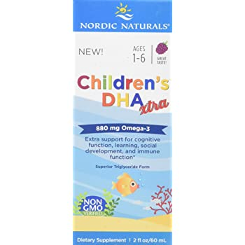 Nordic Naturals Children's Dha Xtra Berry Punch Supplement, 880 mg
