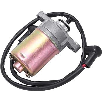 LNIEGE Lnige Moteur de d/émarrage /électrique pour Moto 50 CC GY6 80 CC Scooter ATV Quad Moto Starter /électrique