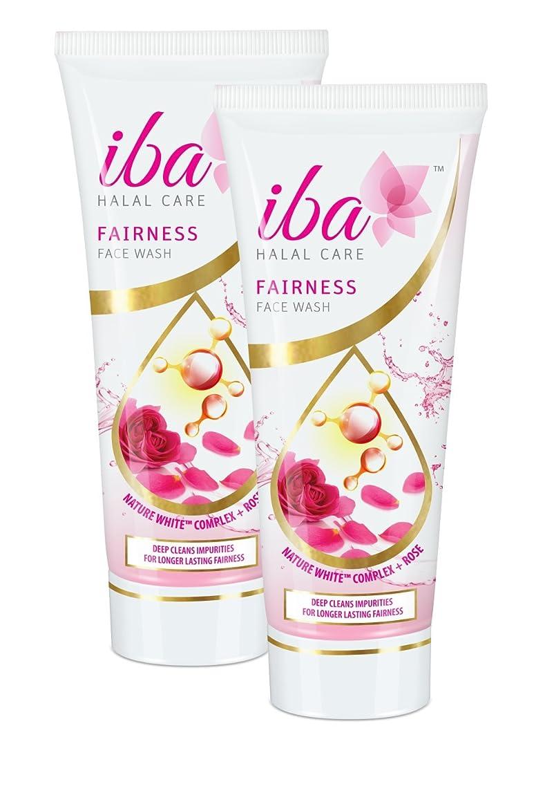 誘う知性援助するIba Halal Care Fairness Face Wash, 100ml (Pack of 2)
