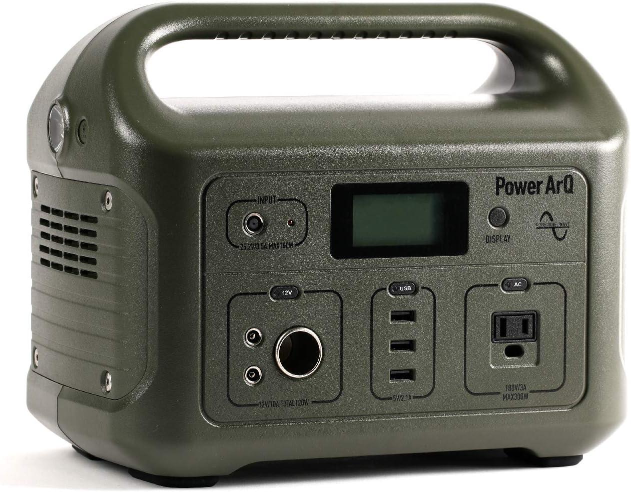 PowerArQ ポータブル電源 626Wh Smart Tap/スマートタップ(Smart Tap)