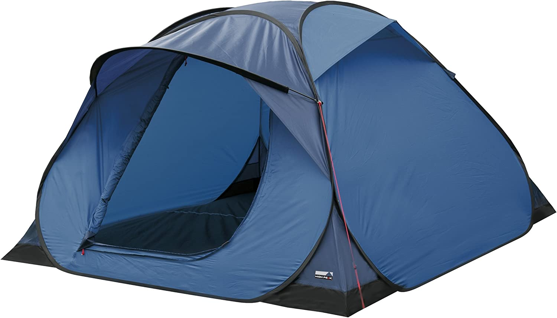 High Peak Hyperdome 3 10148 3-Person Pop up Tent 210 x 210 x 130 cm Light bluee bluee